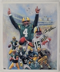 Bart Starr Autographed Limited Edition Lithograph #2/5  *TriStar Authenticated*