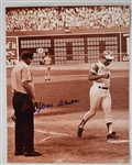 Hank Aaron Autographed 11x14 Photo