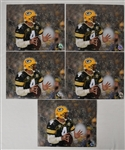 Brett Favre Lot of 5 Autographed Photos