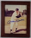 Mickey Mantle Autographed & Framed 8x10 Photo