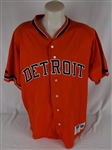David Wells 1993 Detroit Tigers Game Used Jersey