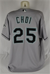 Hee Seop Choi 2004 Florida Marlins  Game Used Jersey