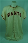 Bob Schmidt 1959 San Francisco Giants Game Used Jersey w/Dave Miedema LOA