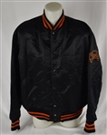 Gordon Jones 1957 New York Giants Game Used Dugout Jacket w/Dave Miedema LOA