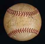Babe Ruth 1948 Single Signed Baseball PSA/DNA