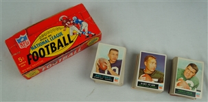 Vintage 1965 Philadelphia Complete Football Card Set EX/MT w/Original Wax Pack Box
