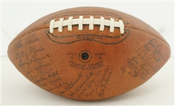 Chicago Bears 1954 Team Signed Football w/George Halas & Paddy Driscoll