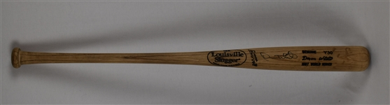 Devon White 1997 Florida Marlins Game Used World Series Bat