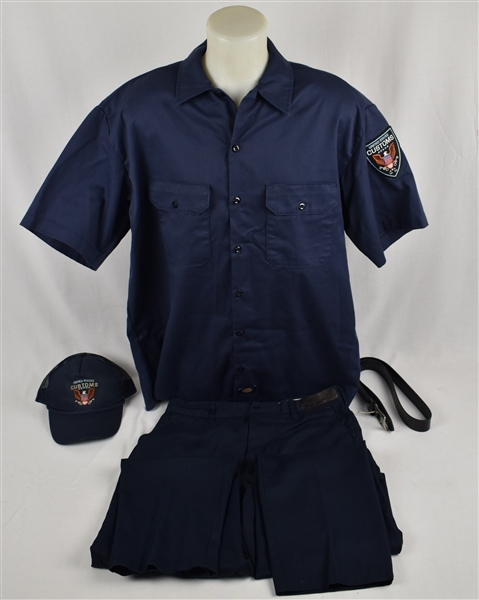 American Made Movie Worn Federal U.S. Customs Uniform