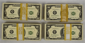 """American Made"" Movie Prop U.S. Currency"