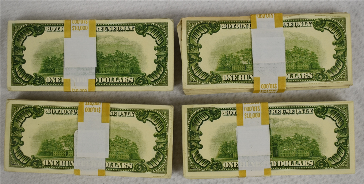 American Made Movie Prop U.S. Currency