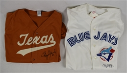 Roger Clemens Autographed Texas Longhorns & 1991 Toronto Blue Jays Jersey