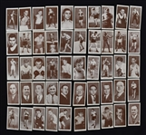 Complete Set of 1938 Churchman Boxing Personalities Cigarette Cards