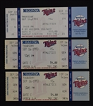 Dave Winfield Lot of 3 Tickets From 3,000th Hit Game