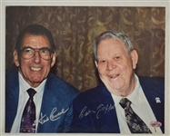 Calvin Griffith & Herb Carneal Autographed 8x10 Photo