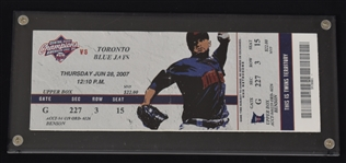 Frank Thomas HR #500 Ticket