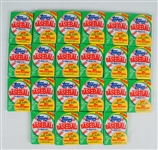 Collection of 22 Unopened 1990 Topps Baseball Wax Packs