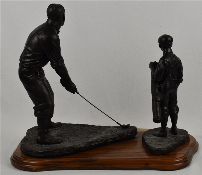 Bobby Jones Bronze Limited Edition Golf Statue