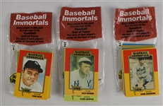 Baseball Immortals Card Sets