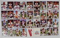 Minnesota Twins 1985 Team Baseball Card Set w/Kirby Puckett Rookie