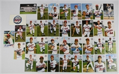 Minnesota Twins 1986 Team Baseball Post Card Set w/Kirby Puckett