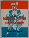 Vintage 1964 Wheaties Football Stamp Book