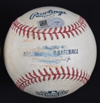 Minnesota Twins 2016 Opening Day Game Used Baseball MLB Authentication