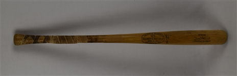 Zoilo Versalles 1965 Minnesota Twins Game Used & Autograph Bat From AL MVP & World Series Season