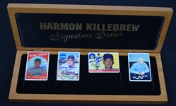 Harmon Killebrew Signature Series Set w/3 Autographed & Inscribed Cards