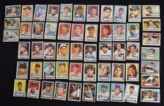 Autographed 1952 Topps Reprint Cards