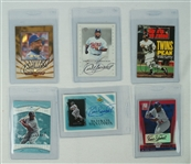 Kirby Puckett Lot of 6 Autographed Cards