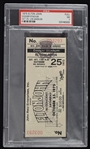 Elton John 1975 RARE Dodger Stadium Los Angeles Concert Ticket PSA 7