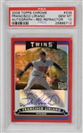 Francisco Liriano 2006 Topps Chrome Red Refractor Autographed Rookie Card #12/25 PSA 10 (Only One in Existence)
