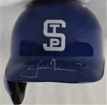 Justin Morneau 2013 Game Used & Autographed Turn Back the Clock Batting Helmet MLB Authenticated