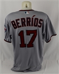 Jose Berrios 2018 Minnesota Twins Game Used Jersey MLB Authentication