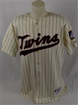 Glen Perkins 2012 Minnesota Twins Game Used Jersey MLB Authentication