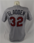 Dan Gladden 1990 Minnesota Twins Game Used & Autographed Jersey