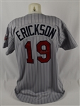 Scott Erickson 1994 Minnesota Twins Game Used & Autographed Jersey