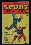 Vintage 1948 True Sport Football Magazine