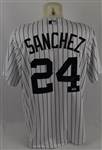 Gary Sanchez New York Yankees Autographed Jersey PSA/DNA
