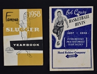 Vintage 1957-58 Baseball & Basketball Publications