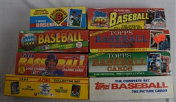 Collection of 8 Factory Baseball Card Sets
