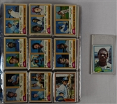 Vintage 1981 Topps Baseball Card Set In Album