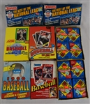 Baseball 8 Boxes of Unopened Wax Packs