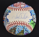 Derek Jeter One-Of-A-Kind Charles Fazzino Baseball Steiner