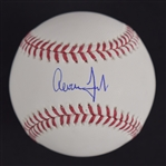 Aaron Judge Autographed Baseball MLB Authentication