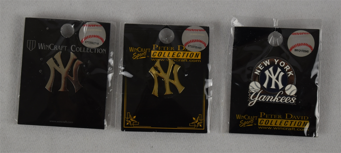 New York Yankees 1990 Pins