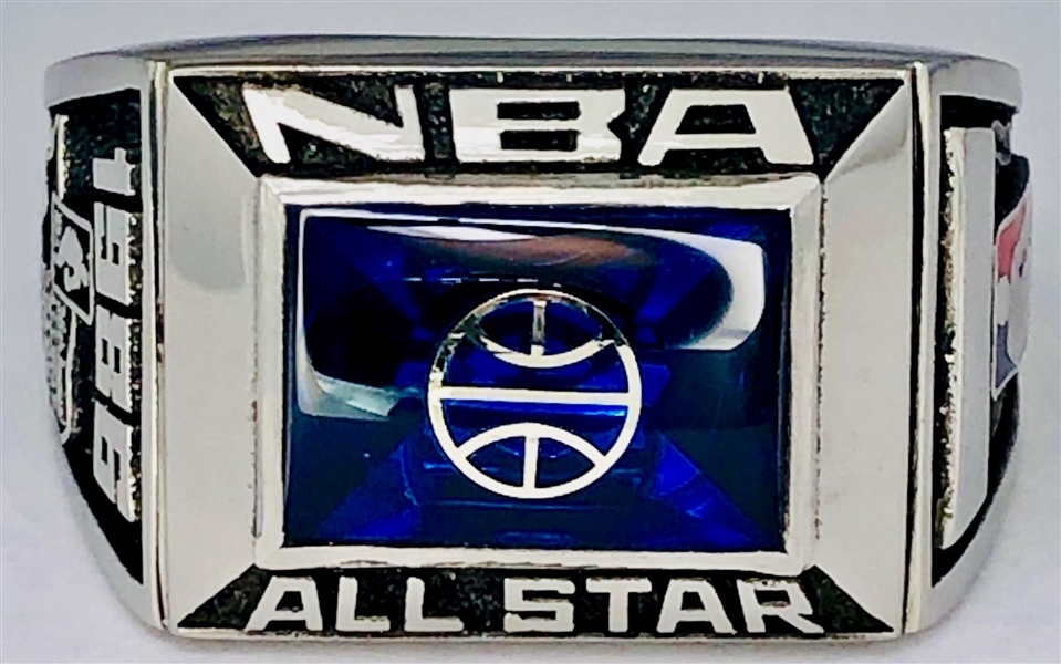NBA 1986 All-Star Game Ring Played at Reunion Arena in Dallas Texas