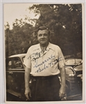 Babe Ruth Autographed & Inscribed 8x10 Photo PSA/DNA