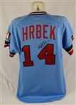Kent Hrbek 1985 Game Used & Autographed Jersey